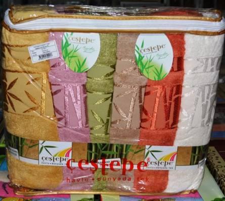 Фото  товара Банные бамбуковые полотенца 17-20