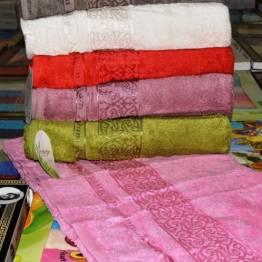 Фото  товара Банные полотенца Бамбук 17-19