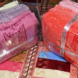 Фото  товара Банные полотенца Micro Deluxe в сумочке