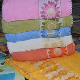 Фото  товара Банные полотенца Ромашка Vip cotton