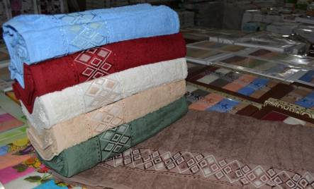 Фото  товара Банные полотенца Ромбик 10-17