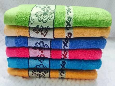 Фото  товара Банные полотенца Цветочек