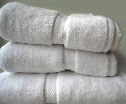 Фото  товара Белые полотенца