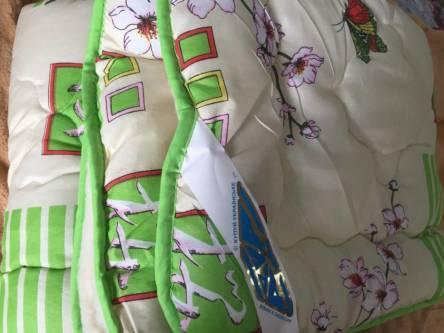 Фото  товара Двуспальное одеяло мех на 1 сторону