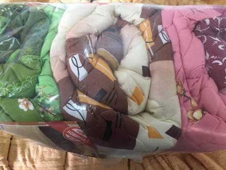 Фото  товара Евро одеяло мех на 1 сторону