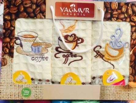 Фото  товара Кухонные наборы Кофе-вафелька