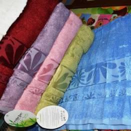 Фото  товара Метровые полотенца Бамбук листочек