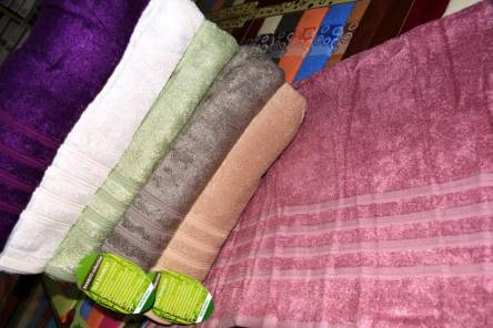Фото  товара Метровые полотенца Бамбук полоска