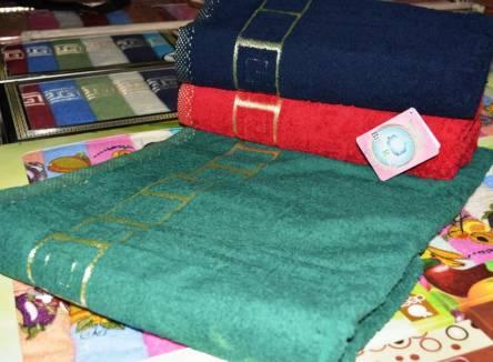 Фото  товара Метровые полотенца Тёмный Версаче