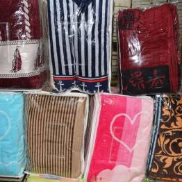 Фото  товара Метровые велюровые полотенца
