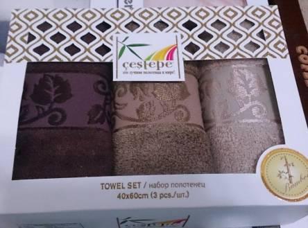 Фото  товара Набор кухонных бамбуковых полотенец Towel Set