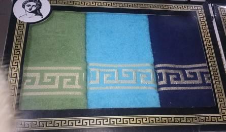 Фото  товара Набор кухонных полотенец Версаче тройка