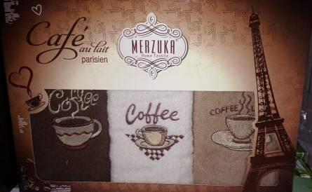 Фото  товара Набор полотенец Кофе тройка