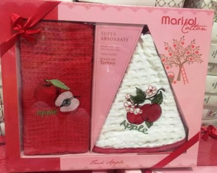 Фото  товара Набор вафельных полотенец Marisol