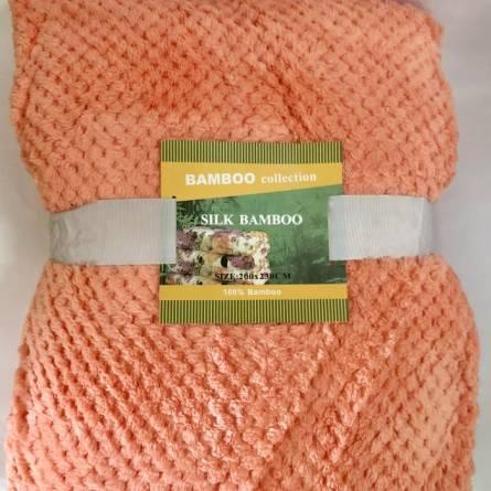 Фото  товара Пледы микрофибра бамбук Евро