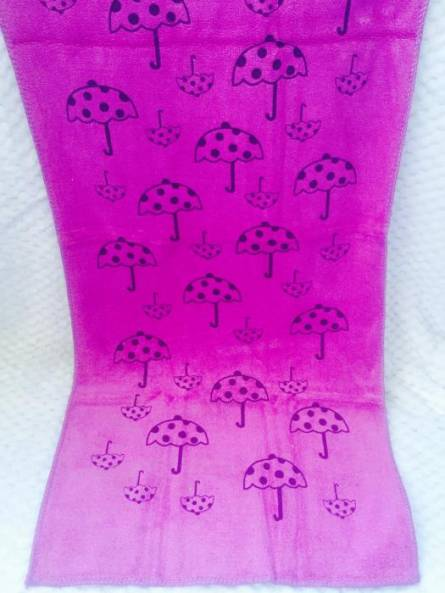 Фото  товара Полотенца для рук микрофибра Зонтик