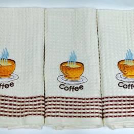 Фото  товара Вафельные полотенца Чашка Кофе